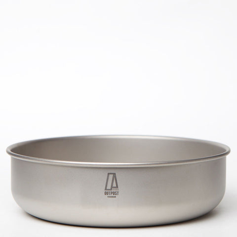 Single Wall Titanium Bowl 900 ml CB108