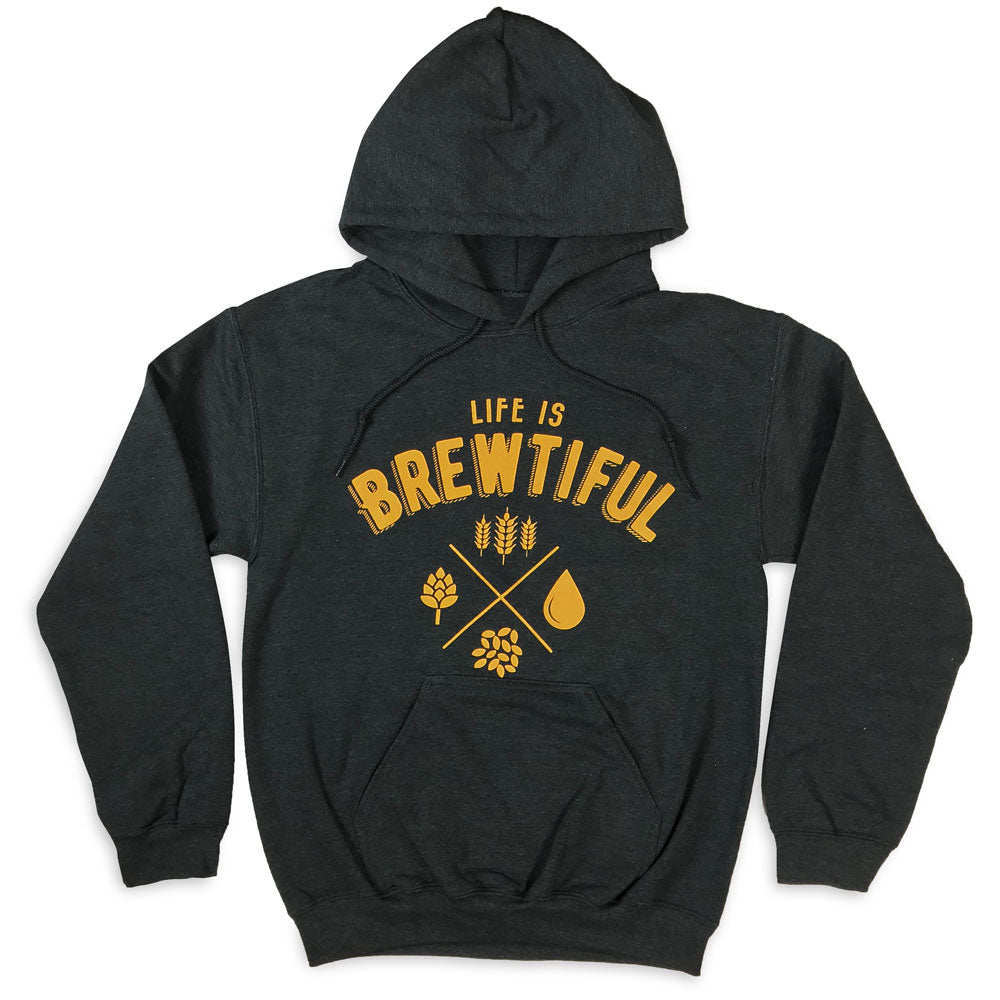 Life is Brewtiful Pullover Hoodie