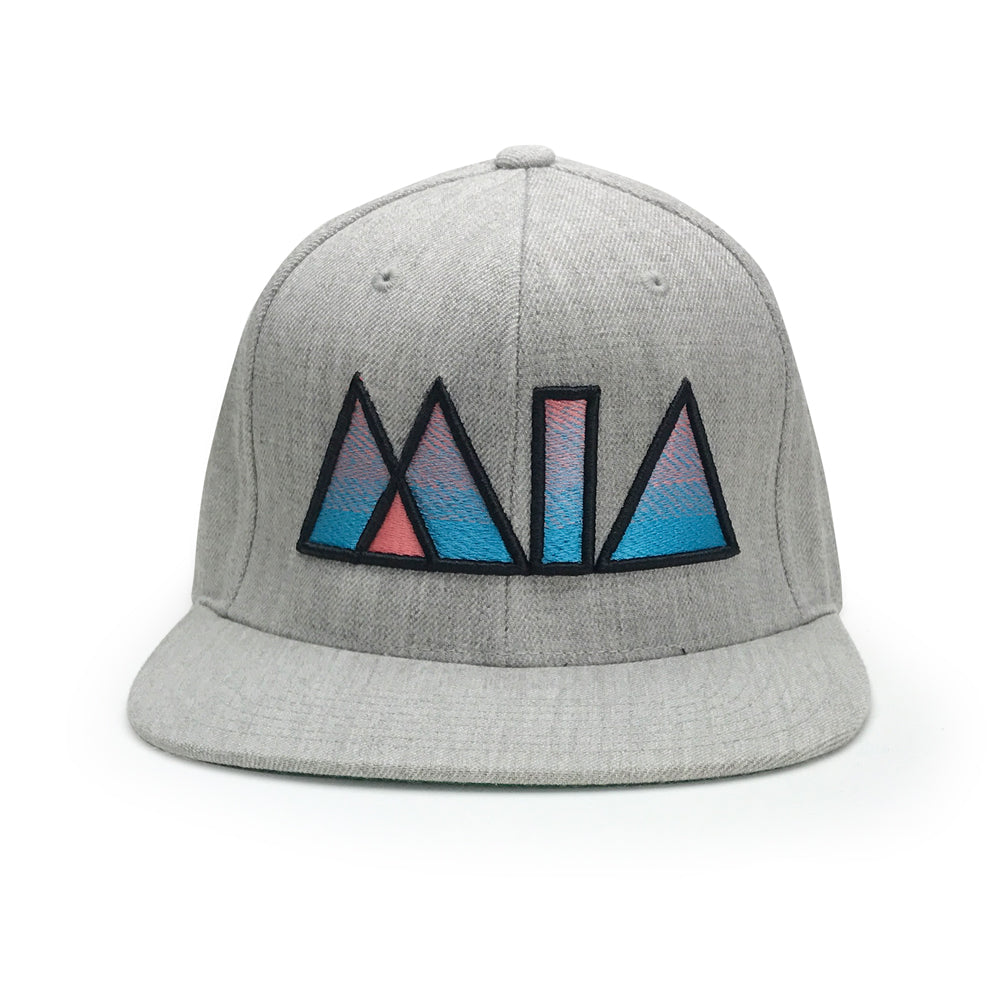 Classic MIA Heather Grey Snapback