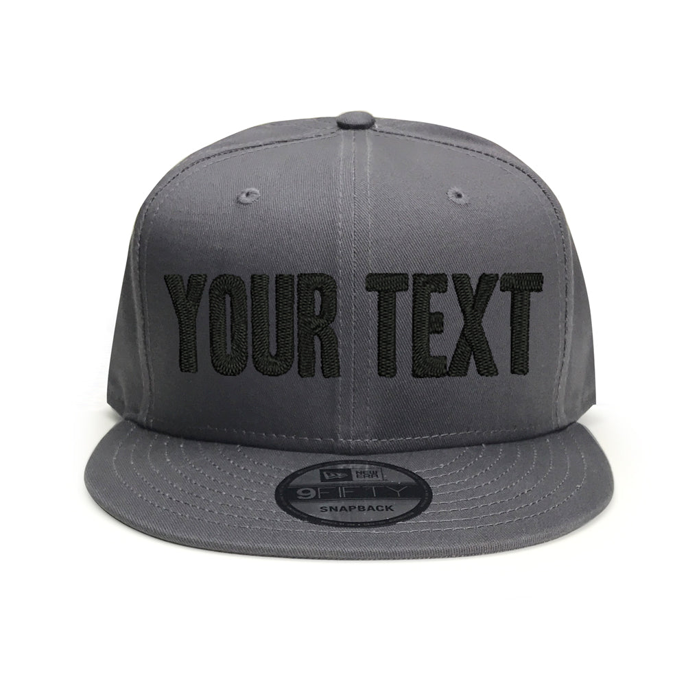 New Era Charcoal Snapback 9FIFTY
