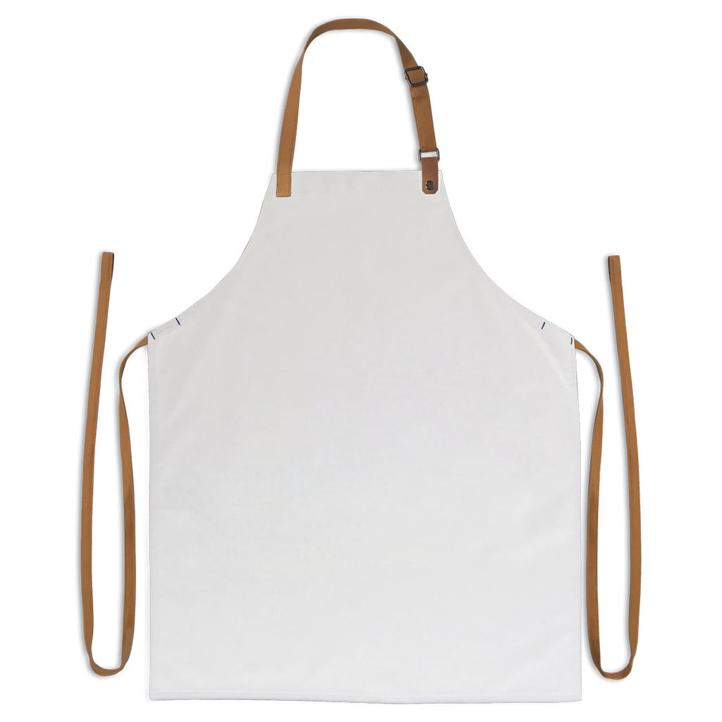 Snap on Leather Bib Apron (Create Your Own)