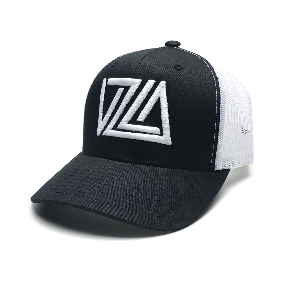 Venezuela Black/White Trucker Hat
