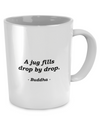Buddha - Patience - Coffee Mug - Unique Gifts Store