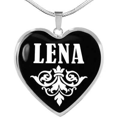 Lena v02 - Heart Pendant Luxury Necklace