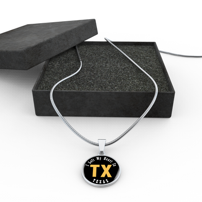 Heart In Texas - Luxury Necklace