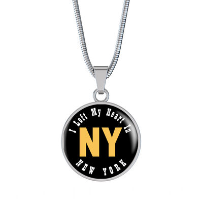 Heart In New York - Luxury Necklace