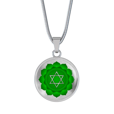 Heart Chakra (Anahata) v2 - Luxury Necklace