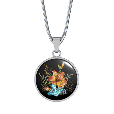 Tiger Lily Bouquet - Luxury Necklace - Unique Gifts Store