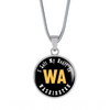 Heart In Washington - Luxury Necklace