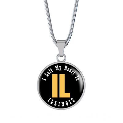 Heart In Illinois - Luxury Necklace