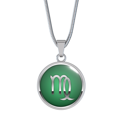 Zodiac Sign Virgo v2 - Luxury Necklace