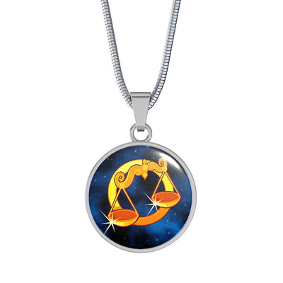 Zodiac Sign Libra - Luxury Necklace - Unique Gifts Store