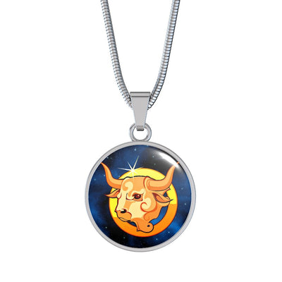 Zodiac Sign Taurus - Luxury Necklace - Unique Gifts Store
