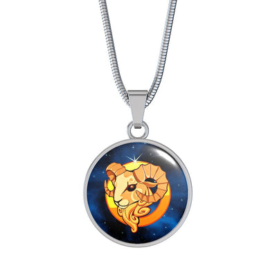 Zodiac Sign Aries - Luxury Necklace - Unique Gifts Store