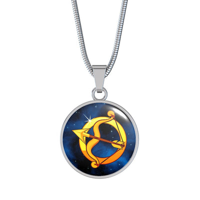 Zodiac Sign Sagittarius - Luxury Necklace - Unique Gifts Store