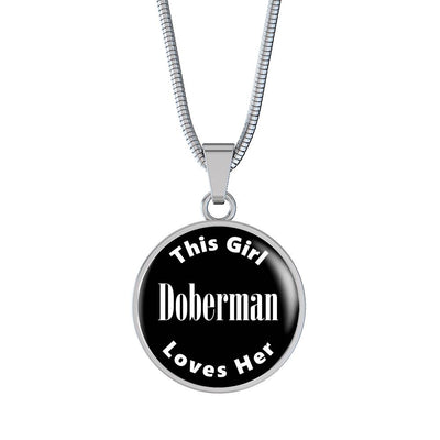 Doberman v2 - Luxury Necklace