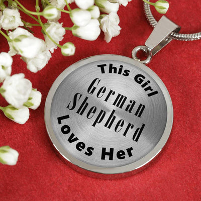 German Shepherd - Luxury Necklace