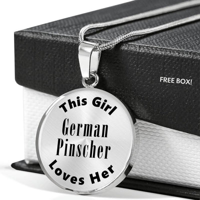 German Pinscher - Luxury Necklace