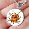 Tiger Lily Bouquet v4 - Luxury Necklace - Unique Gifts Store