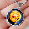 Zodiac Sign Virgo - Luxury Necklace - Unique Gifts Store