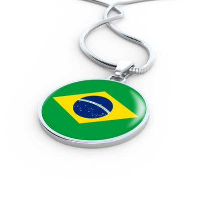 Brazilian Flag - Luxury Necklace