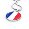 French Flag - Luxury Necklace