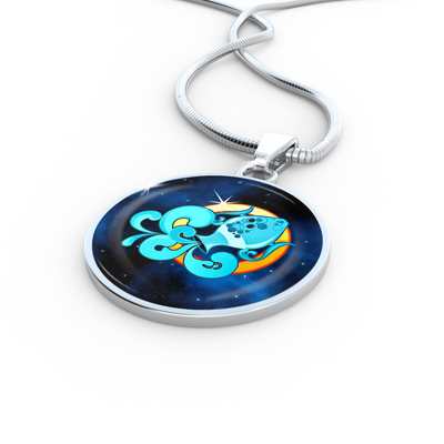 Zodiac Sign Aquarius - Luxury Necklace - Unique Gifts Store