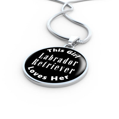Labrador Retriever v2 - Luxury Necklace