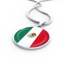 Mexican Flag - Luxury Necklace