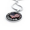My Heart Belongs To A Sailor - Luxury Necklace