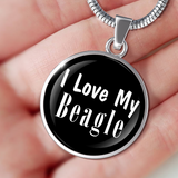Love My Beagle - Luxury Necklace