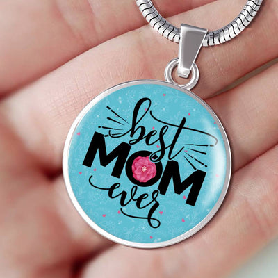 Best Mom Ever v2 - Luxury Necklace