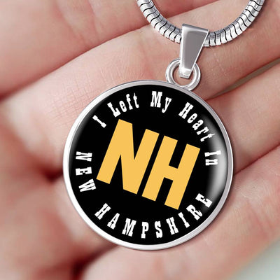 Heart In New Hampshire - Luxury Necklace