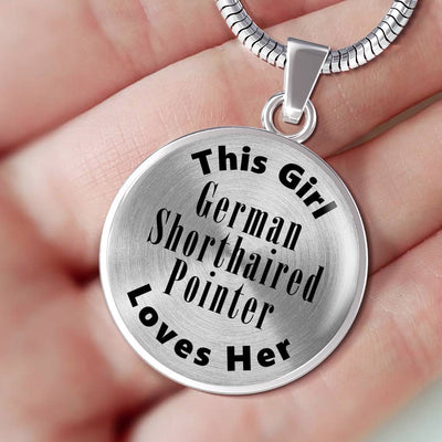 German Shorthaired Pointer - Luxury Necklace