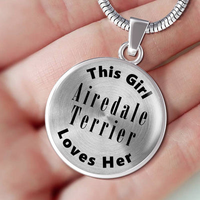 Airedale Terrier - Luxury Necklace