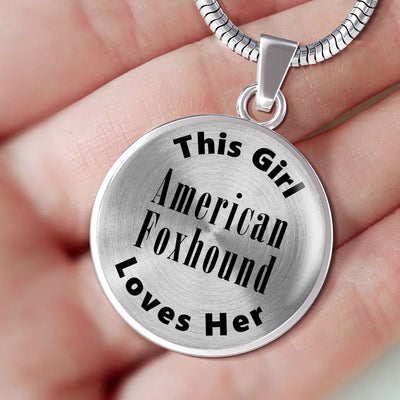 American Foxhound - Luxury Necklace