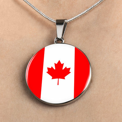 Canadian Flag - Luxury Necklace