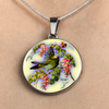 Bird And Flowers - Luxury Necklace
