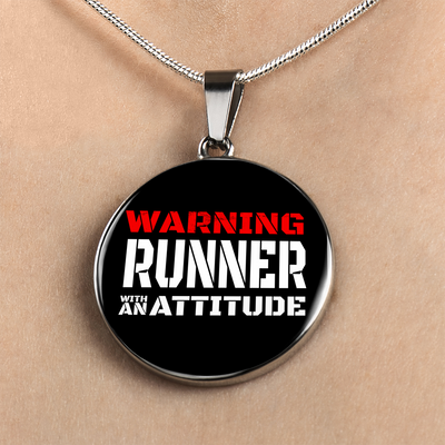 Runner With An Attitude - Luxury Necklace