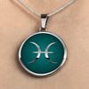 Zodiac Sign Pisces v2 - Luxury Necklace