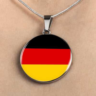 German Flag - Luxury Necklace