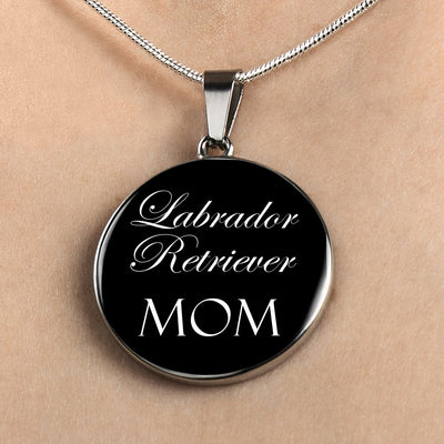 Labrador Retriever Mom - Luxury Necklace