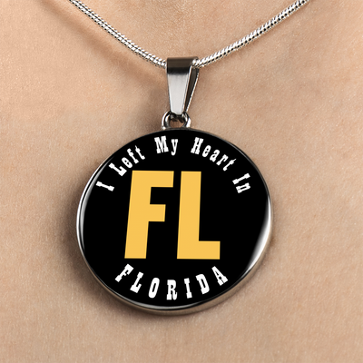 Heart In Florida - Luxury Necklace