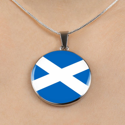 Scottish Flag - Luxury Necklace