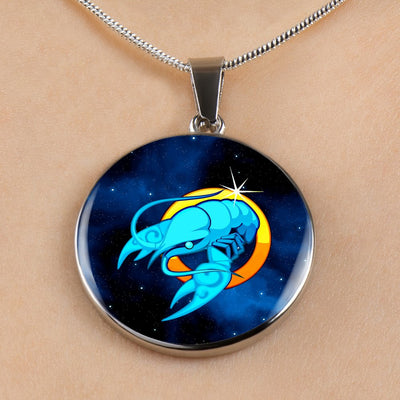 Zodiac Sign Cancer - Luxury Necklace