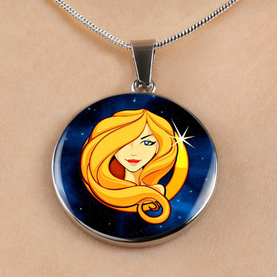 Zodiac Sign Virgo - Luxury Necklace