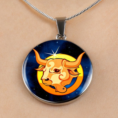 Zodiac Sign Taurus - Luxury Necklace