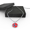 Norwegian Flag - Luxury Necklace