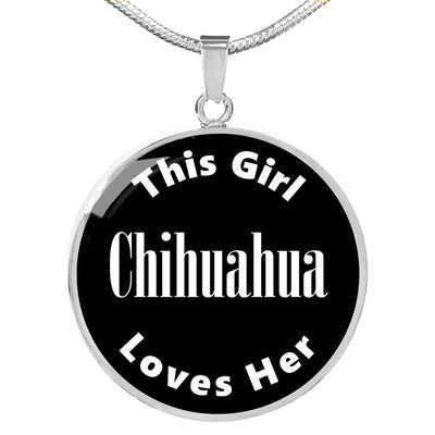 Chihuahua v2 - Luxury Necklace