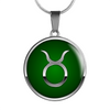 Zodiac Sign Taurus v2 - Luxury Necklace